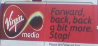 Virgin Media slogan