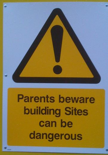 I spotted the second outside a building site right near where I live.