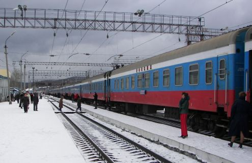 Russian train
