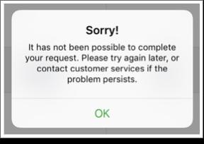 GWR mobile error